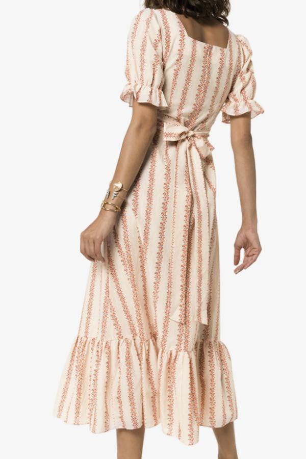 RIXO London Kate Flora Stripe  2
