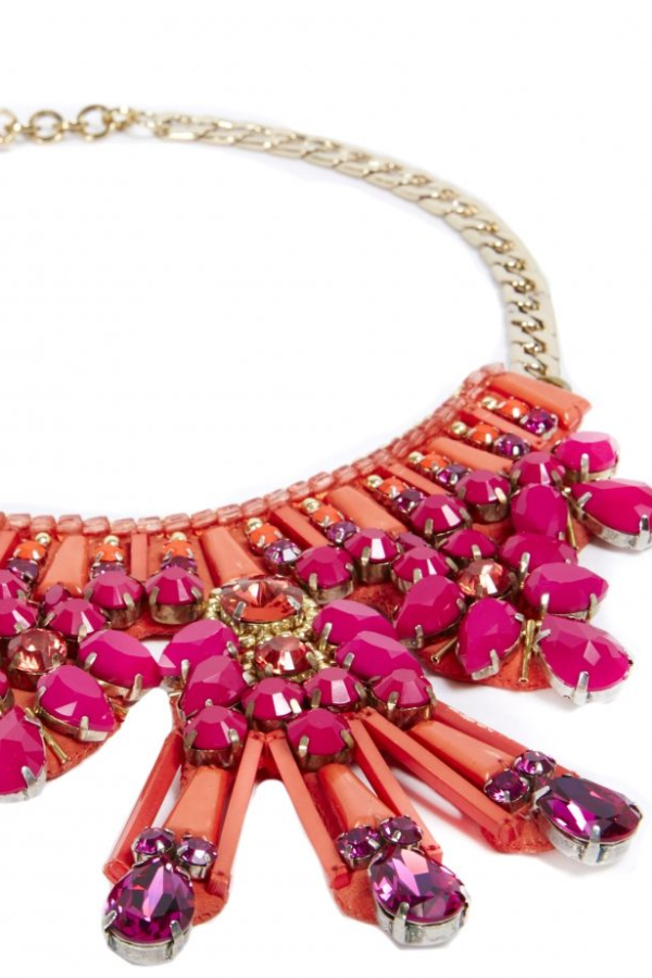 Matthew Williamson Clustered Jewel necklace 3