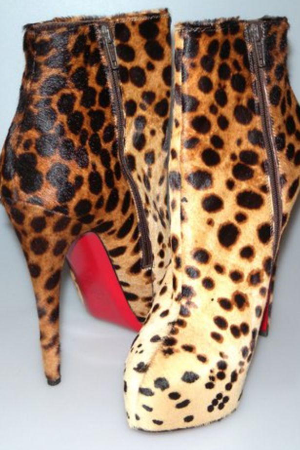 Christian Louboutin Leopard boots 4 Preview Images