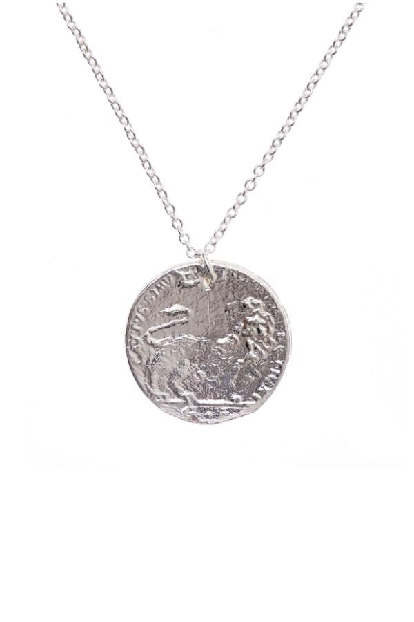 Image 1 of Alighieri medium snow lion necklace