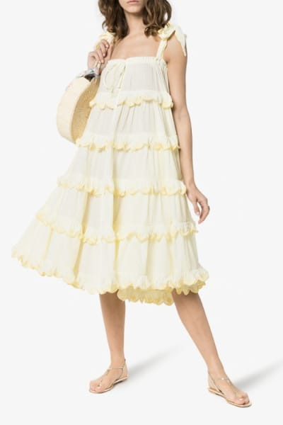 Innika Choo The scallop dress 5