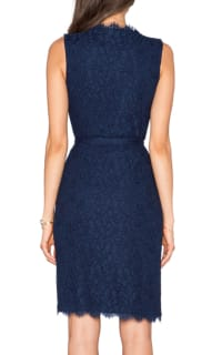 Diane Von Furstenberg Julianna Two Lace Wrap Dress 2 Preview Images