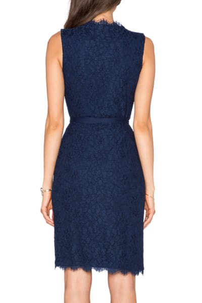 Diane Von Furstenberg Julianna Two Lace Wrap Dress 2