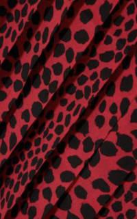 RIXO London Leopard pleat midi skirt 3 Preview Images
