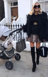 Ganni Leopard Mini Skirt 3 Preview Images