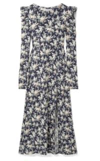 Les Rêveries Floral Midi Dress Preview Images