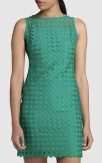 Ralph Lauren Circle Lace Sheath Dress  3 Preview Images