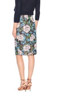 Diane Von Furstenberg Floral sequinned skirt 3 Preview Images