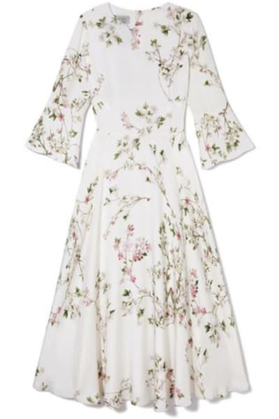 Hobbs Agatha Silk Dress