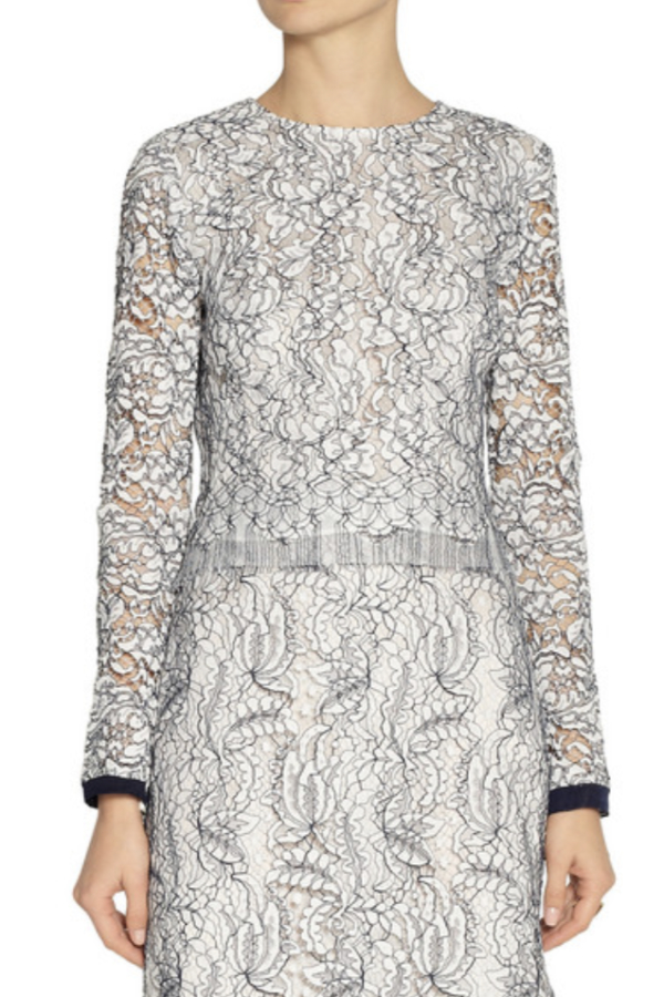 Adam Lippes Lace Top 3