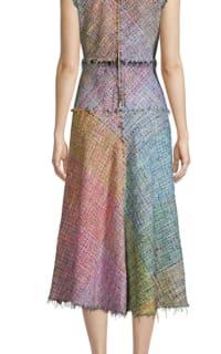 Escada Dalira Multicolor Tweed Midi Dress Preview Images