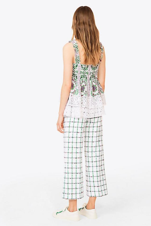 Tory Burch Garden Party Silk Georgette 4