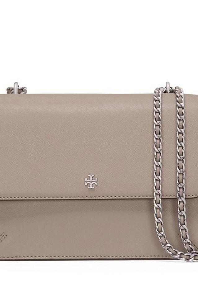 Tory Burch Robinson Convertible Leather Shoulder Bag 3 Preview Images