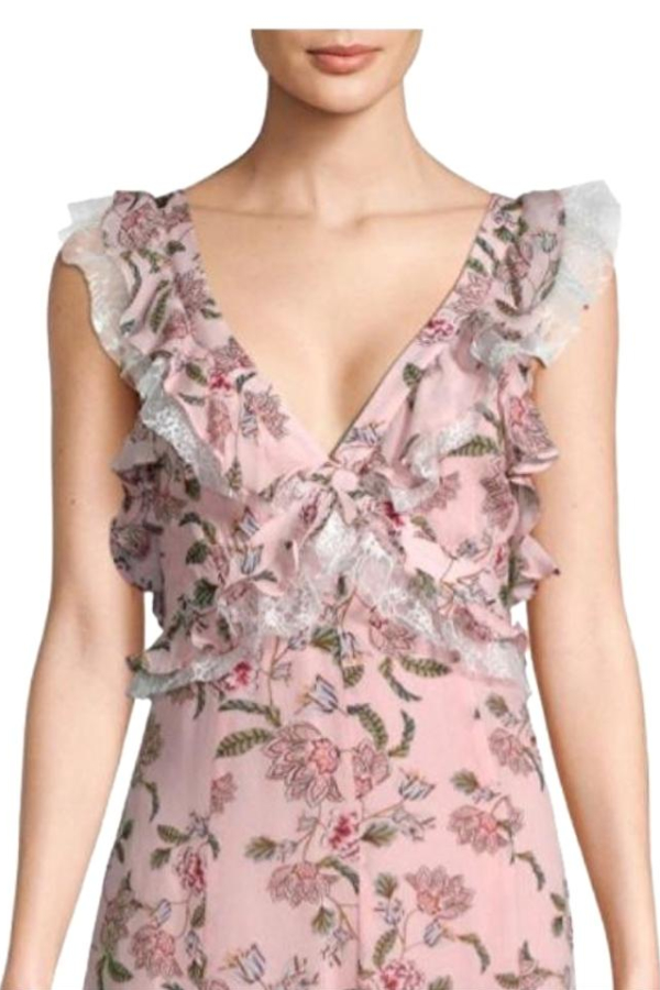 For Love and Lemons Bee Balm Floral Maxi Dress 4