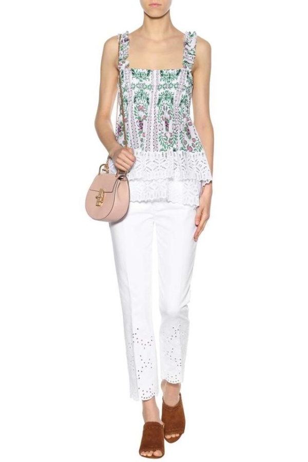 Tory Burch Garden Party Silk Georgette 2