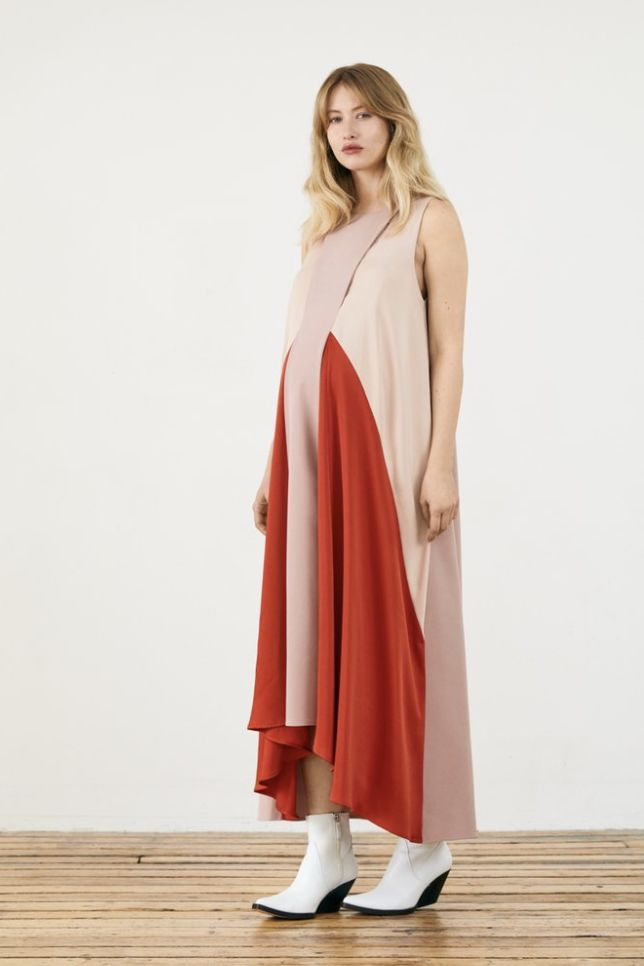 MOTHER ROSE MATERNITY PARACHUTE DRESS 3 Preview Images