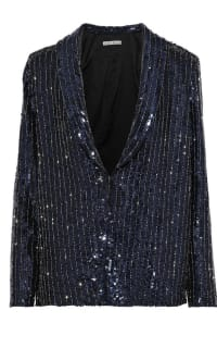 Alice + Olivia Sequin Blazer Preview Images