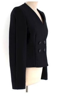Stella McCartney Collarless Black Blazer 2 Preview Images