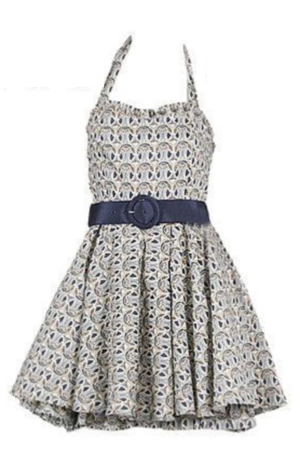 Alice + Olivia Halter Dress