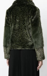 Shrimps Alpin leopard faux fur coat 3 Preview Images