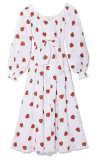 Gül Hürgel Strawberry Print Dress Preview Images