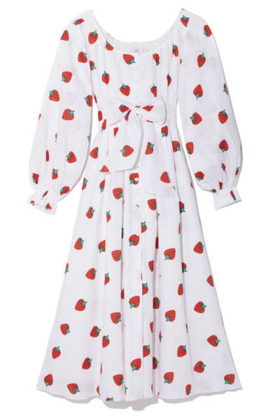 Gül Hürgel Strawberry Print Dress