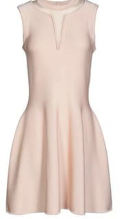 Issa  Short Dress in Light Pink Preview Images