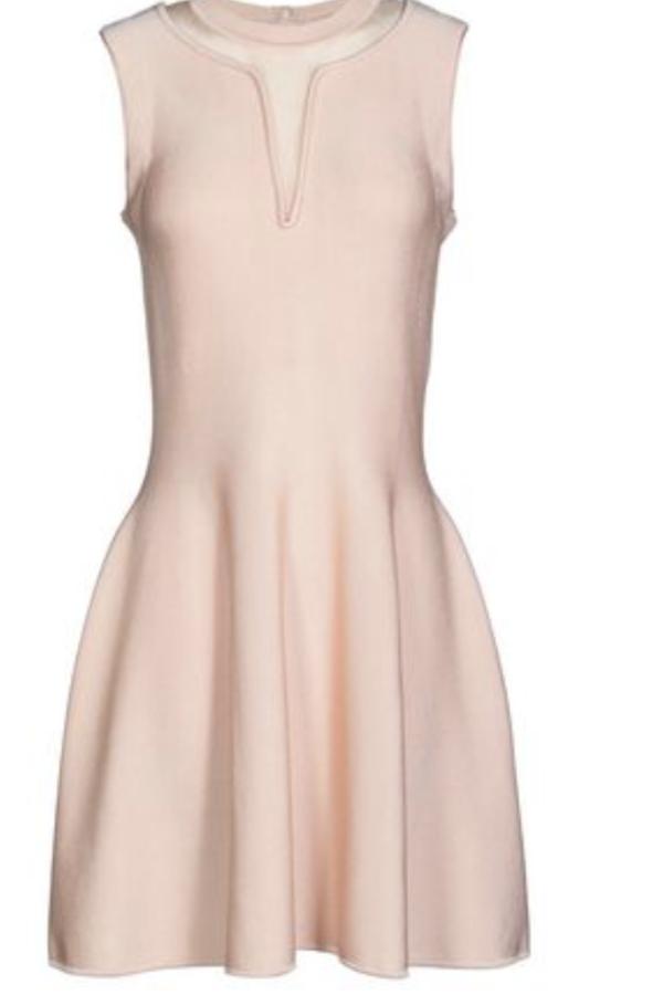 Issa  Short Dress in Light Pink