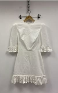 The Vampire's Wife White cotton mini dress 6 Preview Images