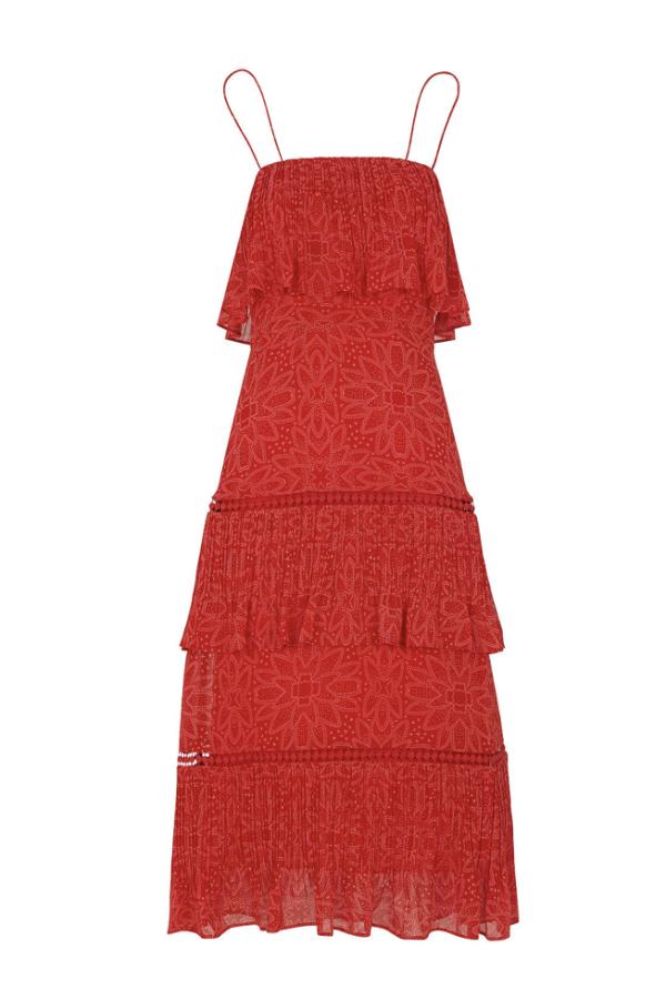 Whistles Riya Printed Dress 3
