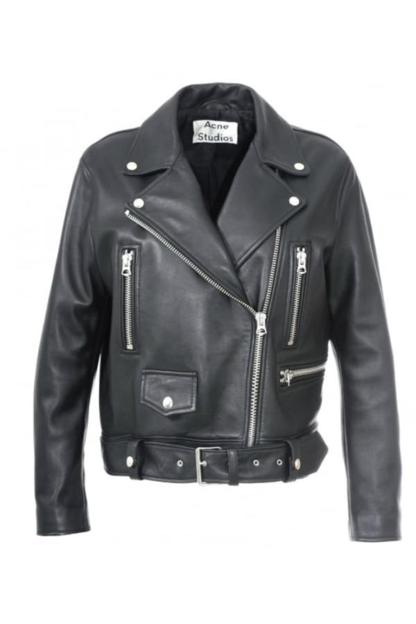Acne Studios Merlyn Leather Jacket 2