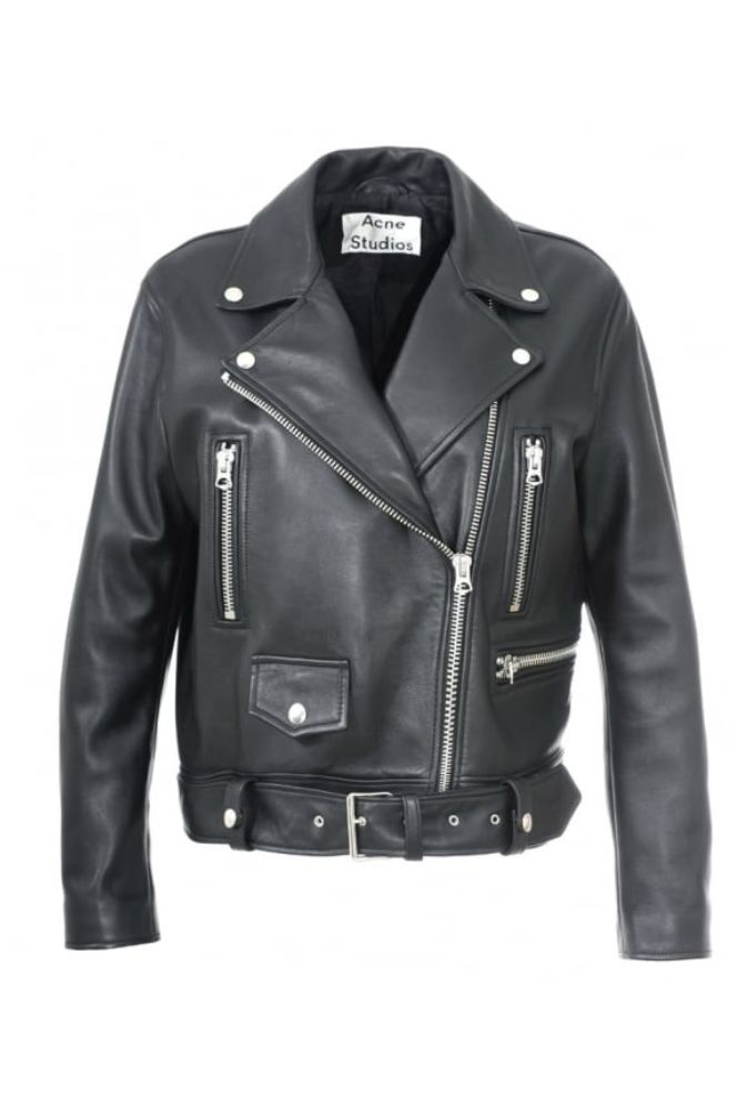 Acne Studios Merlyn Leather Jacket 2 Preview Images