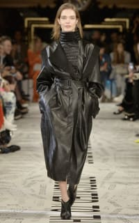 Stella McCartney Vegetarian leather coat Preview Images