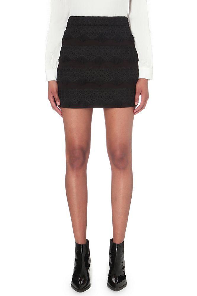 Maje Joe Neoprene Skirt Preview Images