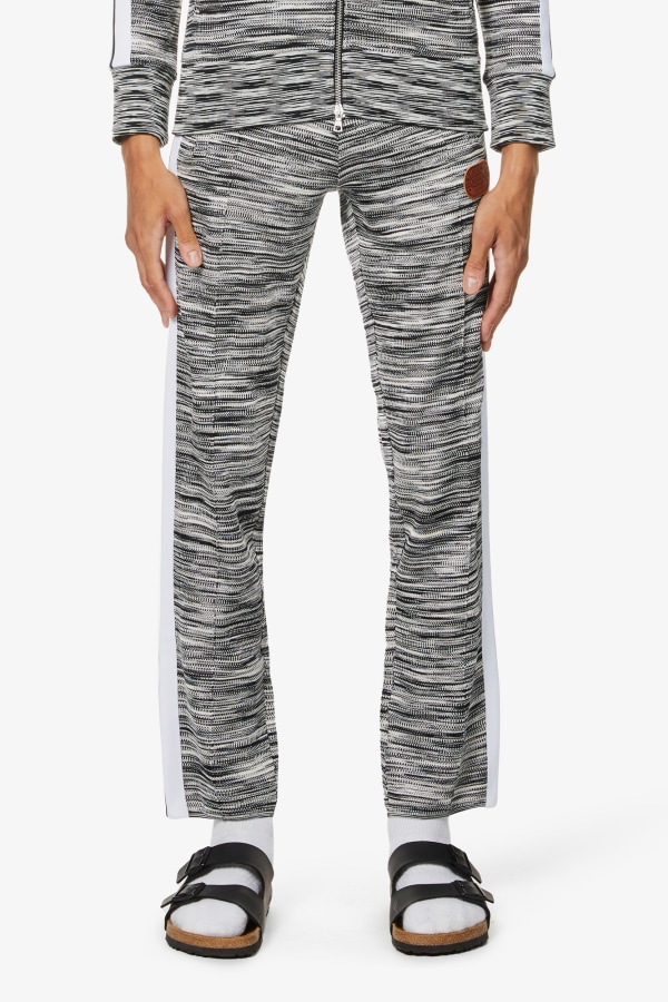 Image 2 of Palm Angels palm angels x missoni relaxed-fit stretch-jersey jogging bottoms