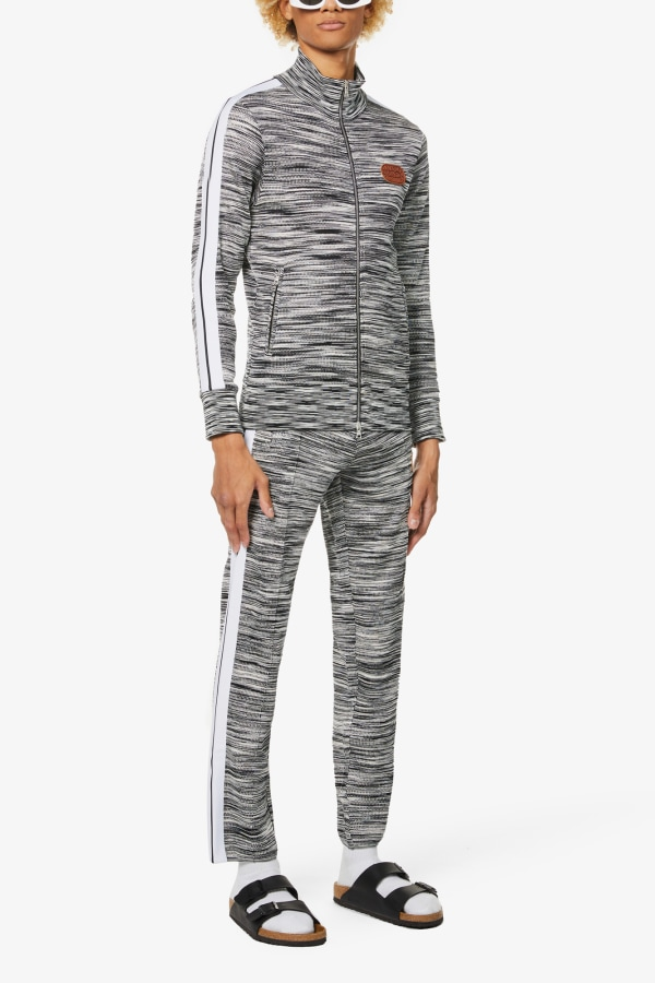 Image 4 of Palm Angels palm angels x missoni relaxed-fit stretch-jersey jogging bottoms