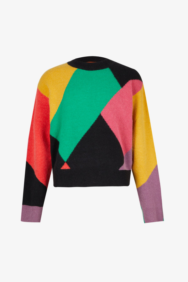 Image 1 of Palm Angels palm angels x missoni oversized knitted jumper