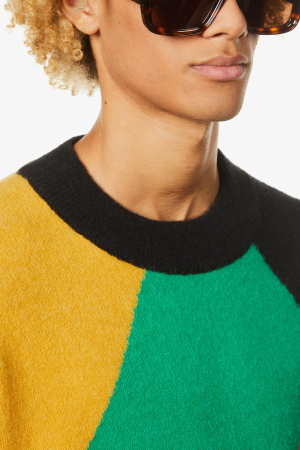 Image 2 of Palm Angels palm angels x missoni oversized knitted jumper