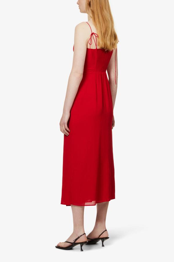 Image 4 of Reformation kourtney self-tie crepe midi dress