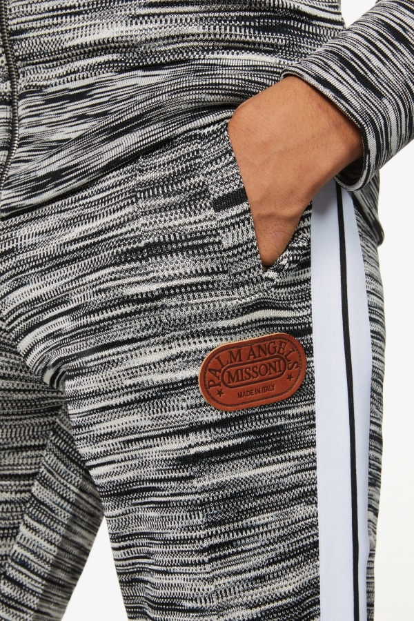 Image 5 of Palm Angels palm angels x missoni relaxed-fit stretch-jersey jogging bottoms