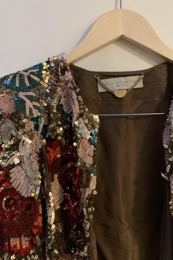 Image 3 of Stella Mc Cartney sequin cropped jacket
