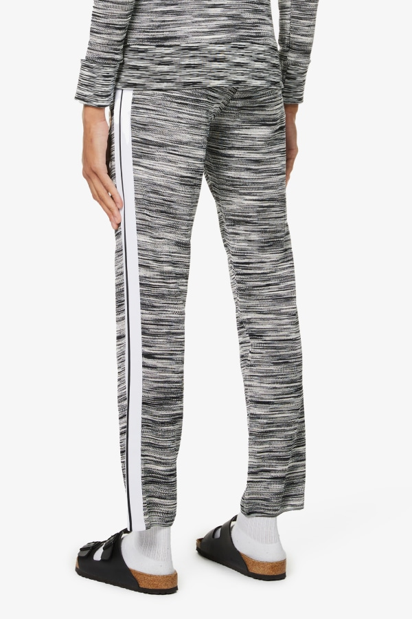 Image 3 of Palm Angels palm angels x missoni relaxed-fit stretch-jersey jogging bottoms