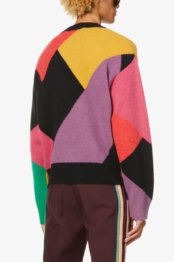 Image 3 of Palm Angels palm angels x missoni oversized knitted jumper