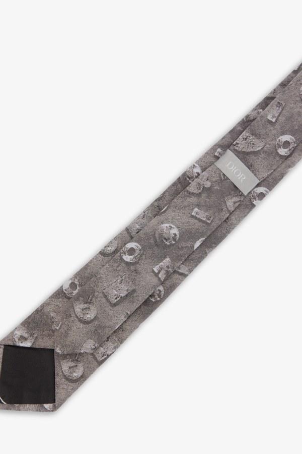 DIOR Dior Tie Jacquard Logo 2 Preview Images