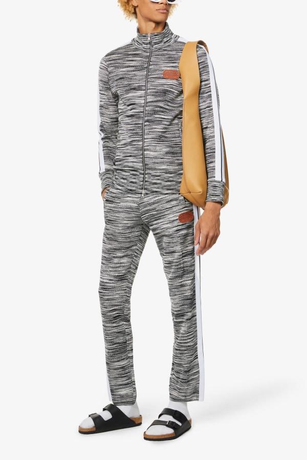 Image 5 of Palm Angels palm angels x missoni slim-fit stretch-knit jacket