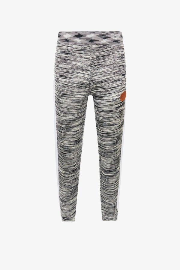 Image 1 of Palm Angels palm angels x missoni relaxed-fit stretch-jersey jogging bottoms