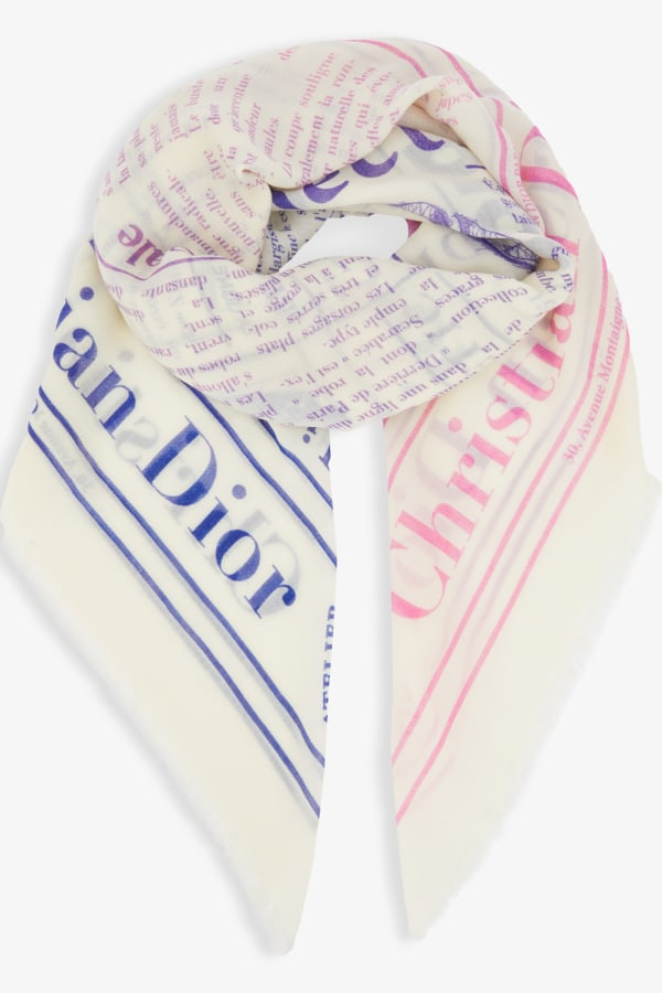 DIOR Dior Scarf Newspaper 0 Preview Images