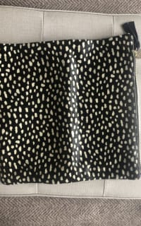 Clare V. hair calf fold over clutch 3 Preview Images