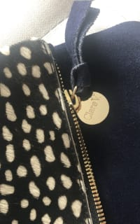 Clare V. hair calf fold over clutch 4 Preview Images