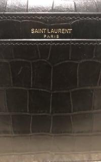 Saint Laurent Catherine Croc Crossbody Bag 3 Preview Images